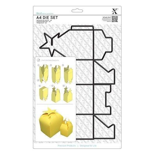 Docrafts / X-Cut A4 skæring dør (1 stk) - gaveæske med stjerne Kraver