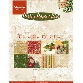 Karten und Scrapbooking Papier, Papier blöcke DESIGNERBLOCK: Pretty: A5, Victorian Christmas