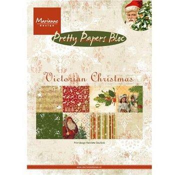 Karten und Scrapbooking Papier, Papier blöcke DESIGNER BLOK: Pretty: A5, victorianske jul