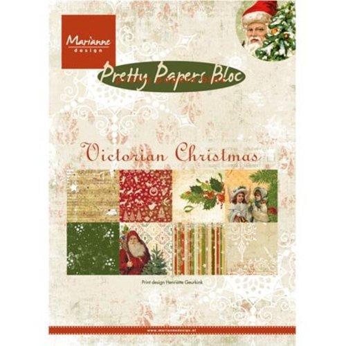 Karten und Scrapbooking Papier, Papier blöcke DESIGNER BLOCK: Pretty: A5, Victoriaanse Kerstmis