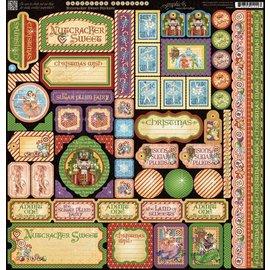 GRAPHIC 45 Graphic 45, carta designer, Lo Schiaccianoci