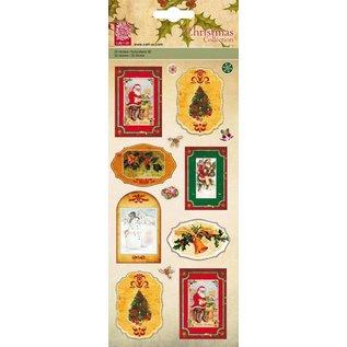 STICKER / AUTOCOLLANT 3D-stickers, nostalgische kerstmotieven - LAATSTE stickers
