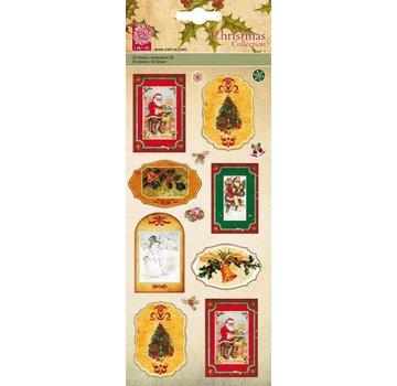 Sticker 3D sticker, Christmas motifs
