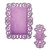 Spellbinders und Rayher Spellbinders, punching and embossing template, D-Lites, decorative frame