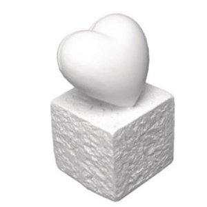 BASTELZUBEHÖR, WERKZEUG UND AUFBEWAHRUNG Polyresin-Kartenhalter: Herz, 5,5 cm