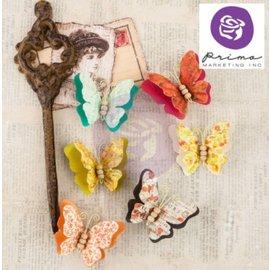 Embellishments / Verzierungen Ornamenter, sommerfugler, Bella Rouge