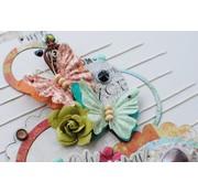 Embellishments / Verzierungen Verzierungen, Schmetterlinge, Bella Rouge