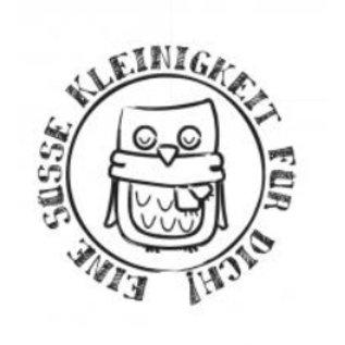 "Stempel / Stamp: Holz / Wood Holzstempel, Duitse tekst, ""een lief klein ding voor u!"""