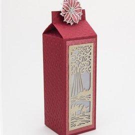 CREATIVE EXPRESSIONS und COUTURE CREATIONS Perforación y relieve stencil La Colección festiva - Magos Mini Striplet