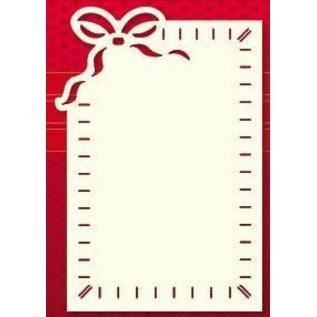 KARTEN und Zubehör / Cards Luxe kaart placer, 3 stuks, 10 x 15 cm