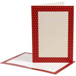 KARTEN und Zubehör / Cards cartes-lettres, la taille de la carte 10,5x15 cm