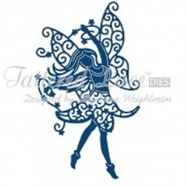 Tattered Lace Stampaggio modello, Tattered Pizzo, pugno di dimensioni modello Elfe circa 69 x 118 millimetri