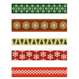 "Cart-Us Ribbon-Set ""Christmas Scandinavian"" 7x1meter"