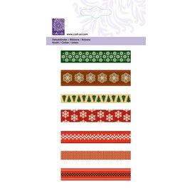 """Cart-Us Ribbon-Set 7x1meter """"Natale scandinavo"""""""