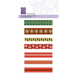 "Cart-Us -Ribbon Set ""Christmas Scandinavian"" 7x1meter"
