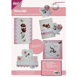 Joy!Crafts / Jeanine´s Art, Hobby Solutions Dies /  Craft set pour la conception de cartes de mariage