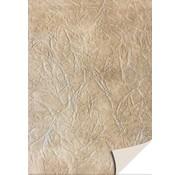 Karten und Scrapbooking Papier, Papier blöcke 5 sheets card stock leather, light brown