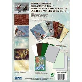 Karten und Scrapbooking Papier, Papier blöcke Kartenkarton Set Weihnachten