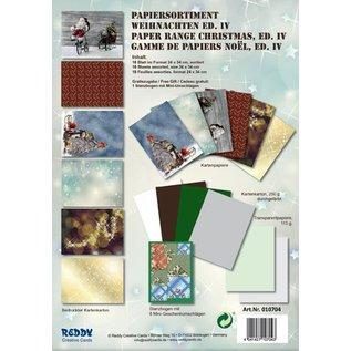 Karten und Scrapbooking Papier, Papier blöcke Card stock Set Christmas