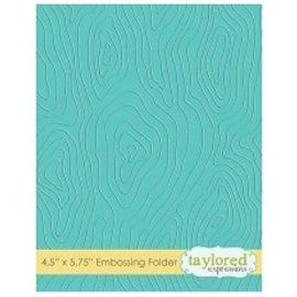 Taylored Expressions Embossingfolder, træ motiv