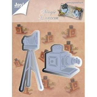 Joy!Crafts / Jeanine´s Art, Hobby Solutions Dies /  Stamping and Embossing stencil, Joy Crafts, camera on stand, Zauberlaterne