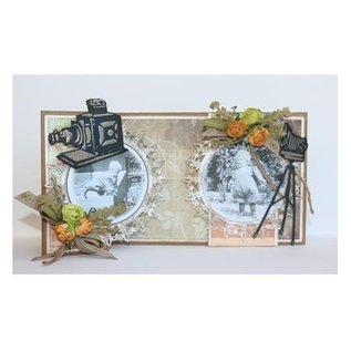 Joy!Crafts / Jeanine´s Art, Hobby Solutions Dies /  Stampen en Embossing stencil, Joy Crafts, camera op statief, Zauberlaterne