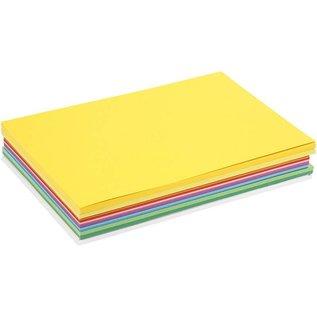 Karten und Scrapbooking Papier, Papier blöcke Happy Card, 30 sortierte Bögen, A4 21 x 30 cm, sortierte Farben