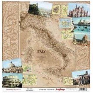 Designer Papier Scrapbooking: 30,5 x 30,5 cm Papier 1 dubbelzijdig bedrukte ontwerper document, 180 gr