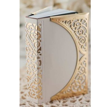 Spellbinders und Rayher Spellbinders, le poinçonnage et le gaufrage modèle, papier Grâce, Swirl Bliss Pocket