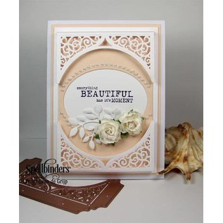 Spellbinders und Rayher Spellbinders, ponsen en embossing sjabloon, Paper Grace, Swirl Bliss Pocket