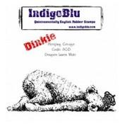 LaBlanche Gummistempel, IndigoBlu Sleeping George Dinkie Mounted A7