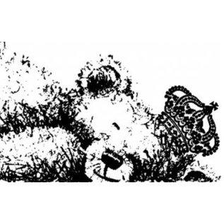 LaBlanche Rubber zegel, IndigoBlu Slapen George Dinkie Mounted A7