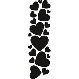 Marianne Design Stampaggio e goffratura stencil, Marianne design Hearts