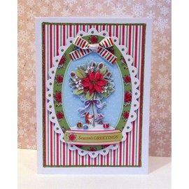 Docrafts / Papermania / Urban Klare frimerker, Mini presisjon stempel, Pippi Wood julen