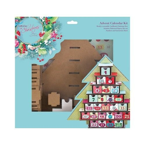 Docrafts / Papermania / Urban ADVENT CALENDAR SET Calendar Kit - Lucy Cromwell At Christmas