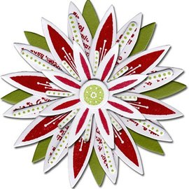 Sizzix Estampage et Pochoir gaufrage, Sizzix poinçonner Framelits avec Set de jeu de timbres fleurs étoiles