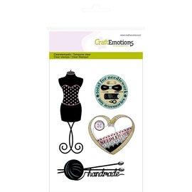 Craftemotions Timbri trasparenti, moda, cucito