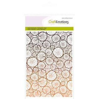 Craftemotions Clear stamps, background tree trunks