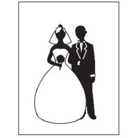 embossing Präge Folder Relieve carpetas, tema: Wedding