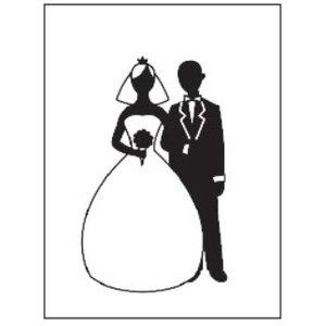 embossing Präge Folder Gaufrage dossiers, thème: Mariage