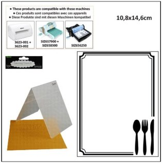DARICE Embossing folders, thema: Occasions