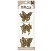 BO BUNNY Bo Bunny laser cut chipboard, butterflies