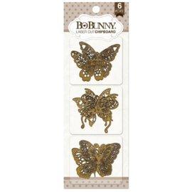 BO BUNNY Bo Bunny corte aglomerado láser, mariposas