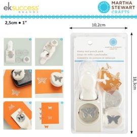 EK Succes, Martha Stewart Martha Stewart, Stempel und Stanzer: Schmetterling