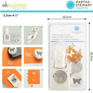 EK Succes, Martha Stewart Martha Stewart, stamps and punches: Butterfly