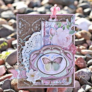 BO BUNNY Sticker, Chipboard Primrose Labels