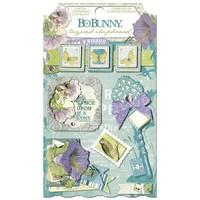 Stickers, Chipboard Enchanted Garden sorted,