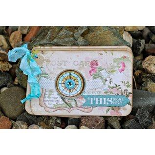 BO BUNNY 3D stickers, Chipboard Garden Journal sorted,