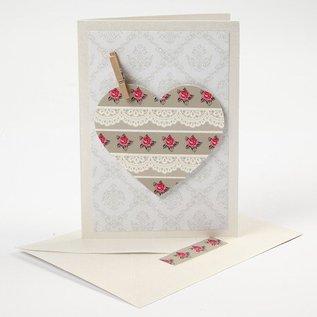 KARTEN und Zubehör / Cards 5 carte d'epoca + buste, formato 10,5x15 cm carta