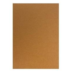 Kartonset Metallic A5, copper, 20 sheets, 250g
